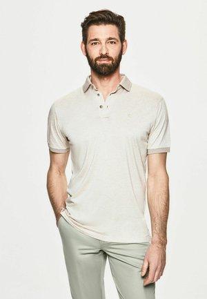 Polo shirt - taupe