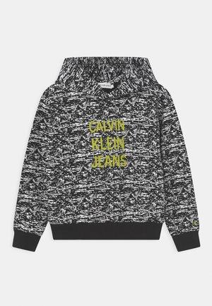 NOISE HOODIE - Sweatshirt - black/white