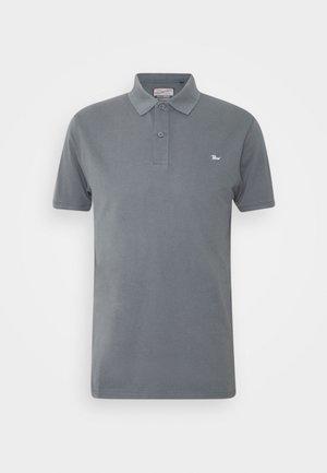 Poloshirt - wolf grey/bright white