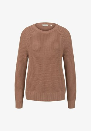 Pullover - clay rose