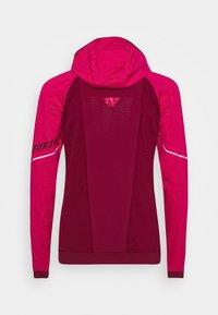 Dynafit - SPEED THERMAL HOODED - Training jacket - flamingo - 1