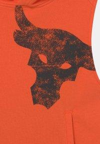 Under Armour - PROJECT ROCK - Mikina - rogue orange - 2