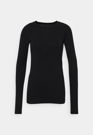 GLISTEN WORKOUT - Long sleeved top - black