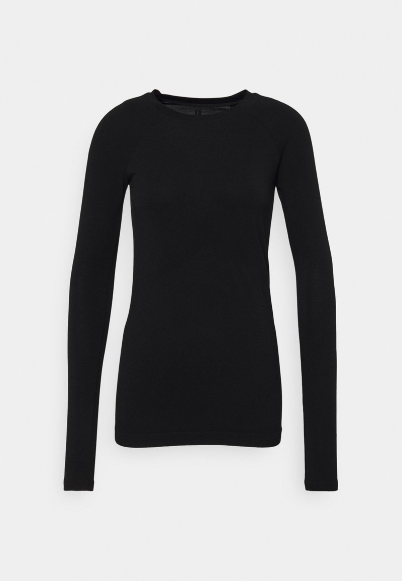 Sweaty Betty - GLISTEN WORKOUT - Long sleeved top - black