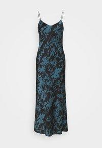 ASCENO - THE LYON SLIP DRESS - Negligé - black - 0