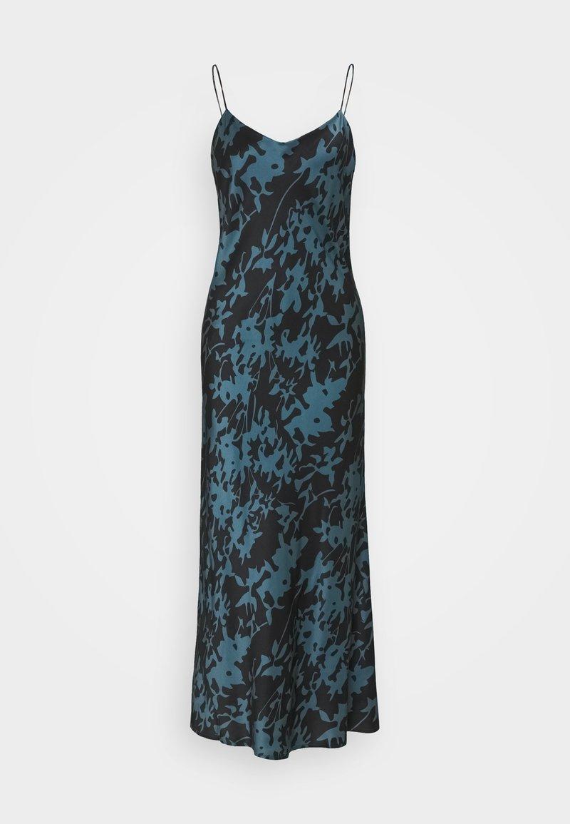 ASCENO - THE LYON SLIP DRESS - Negligé - black