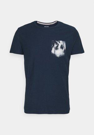TEE - Print T-shirt - dress blues