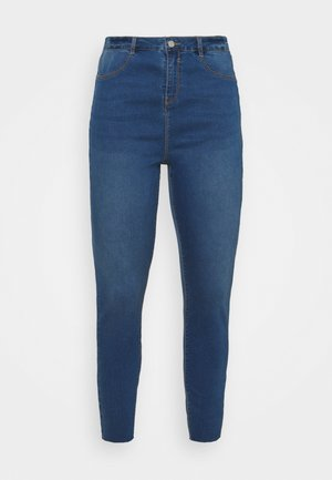 LAWLESS HIGHWAISTED SUPERSOFT - Jeansy Skinny Fit - vintage blue