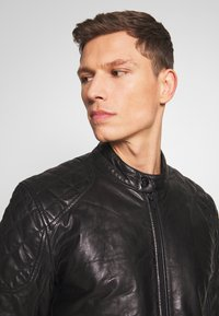 Strellson - DARWIN - Leather jacket - black - 3