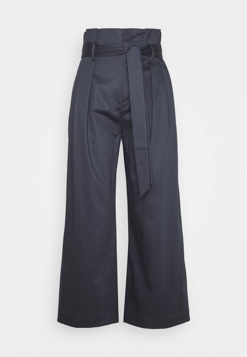 BLANCHE - FIERA SUMMER PANTS - Pantalon classique - graphite