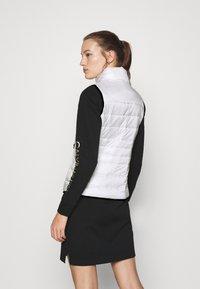 Calvin Klein - Waistcoat - offwhite - 2