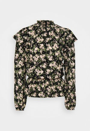 DITSY RUFFLE FRONT FAUCHETTE FASHION - Langærmede T-shirts - multi