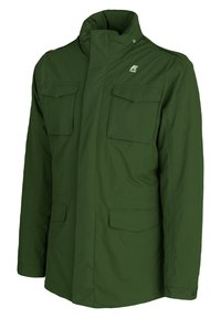 K-Way - MARMOTTA - Outdoor jacket - green dk forest-blue depht - 1