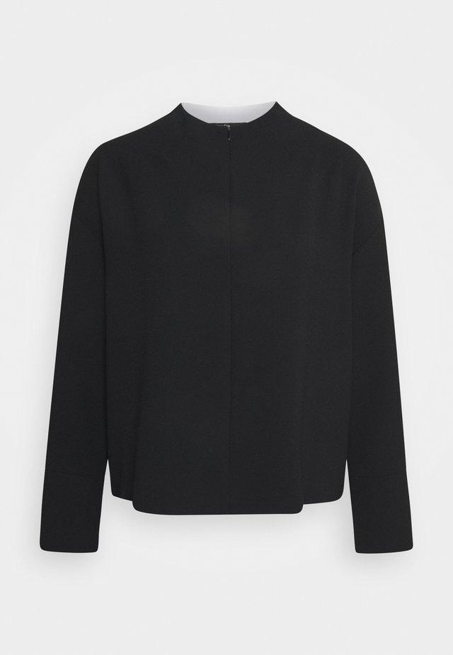 ZEORY - T-shirt à manches longues - black