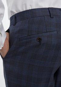 Van Gils - Suit trousers - blue - 3