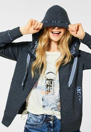 Zip-up hoodie - blau