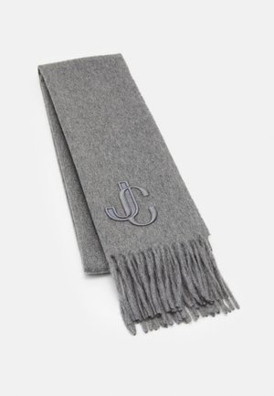 SCARF EMBROIDERY - Šála - light grey