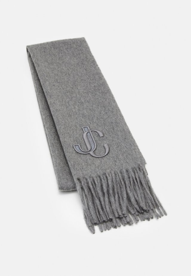 SCARF EMBROIDERY - Huivi - light grey