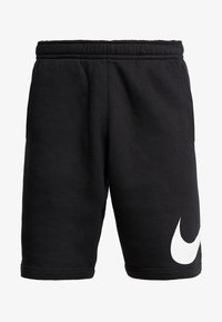 Nike Sportswear - CLUB - Shorts - black/white - 4