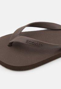 Ecoalf - ALGAM KIDS UNISEX - Pool shoes - brown - 5