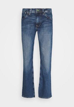KINGSTON - Jeans a sigaretta - blue denim