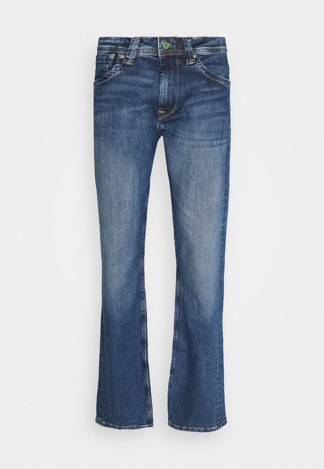 KINGSTON - Jeans straight leg - blue denim