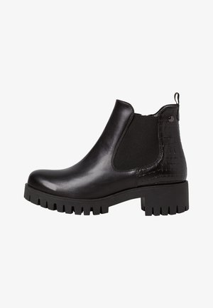 CHELSEA BOOT - Ankle boots - black/struct.