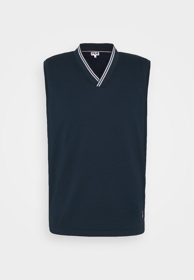 SLIPOVER PAUL - Top - peacot blue