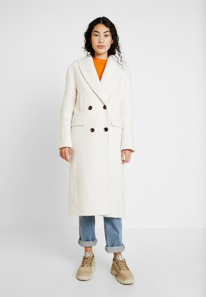 KIM BOUCLE - Classic coat - ivory