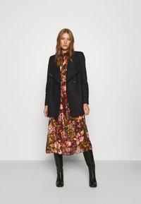 Ted Baker - ROSESS - Classic coat - black - 1