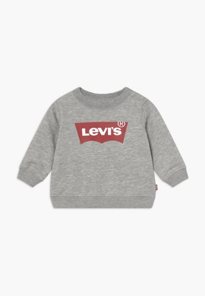 BATWING CREW - Sweater - grey heather