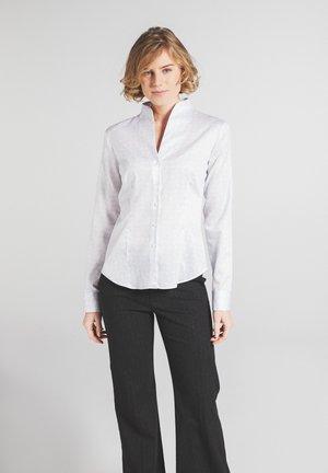 MODERN CLASSIC - Overhemdblouse - grau/weiss