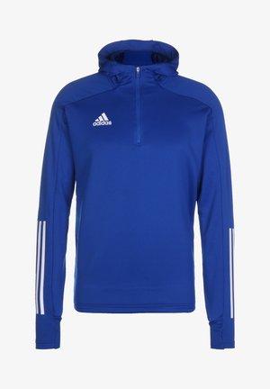 ADIDAS PERFORMANCE CONDIVO 20 KAPUZENSWEATSHIRT HERREN - Hoodie - royal blue / white