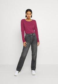 Ragwear - FLORAH LONG  - Long sleeved top - raspberry - 1