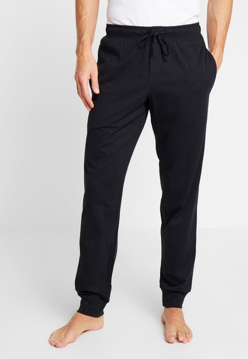 Schiesser - BASIC - Pyjama bottoms - black