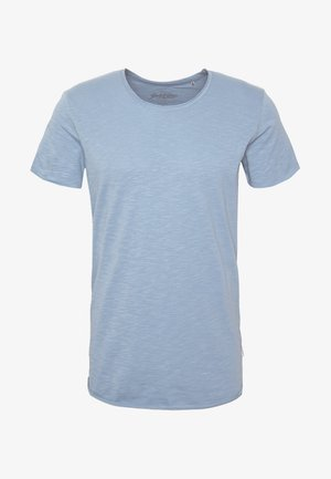 JJEBAS TEE - T-shirts basic - blue heaven