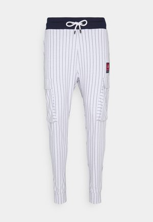 RETRO SPORT - Cargo trousers - white