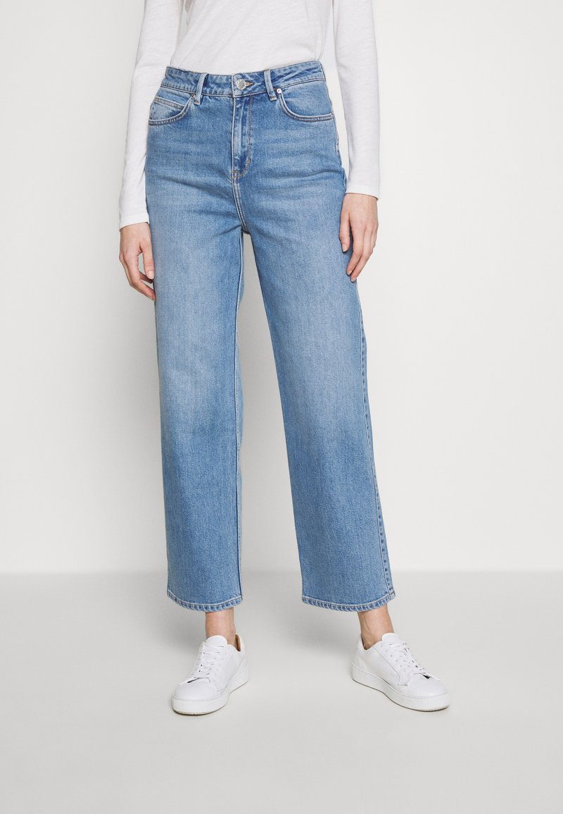 2nd Day - RAVEN THINKTWICE - Relaxed fit jeans - mid blue