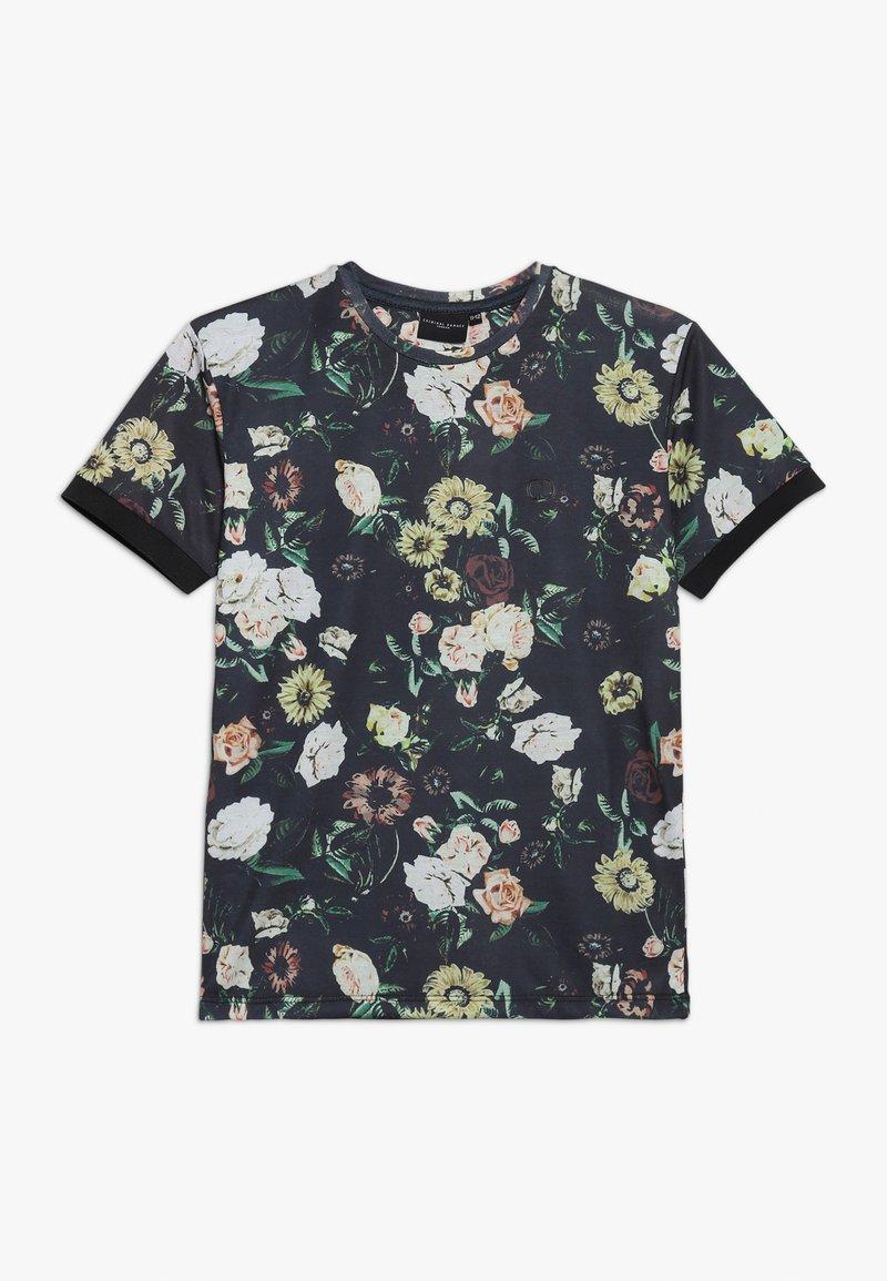 Criminal Damage - DANTE TEE - T-shirt med print - black/multi