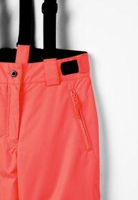 Icepeak - CELIA UNISEX - Zimní kalhoty - orange - 4