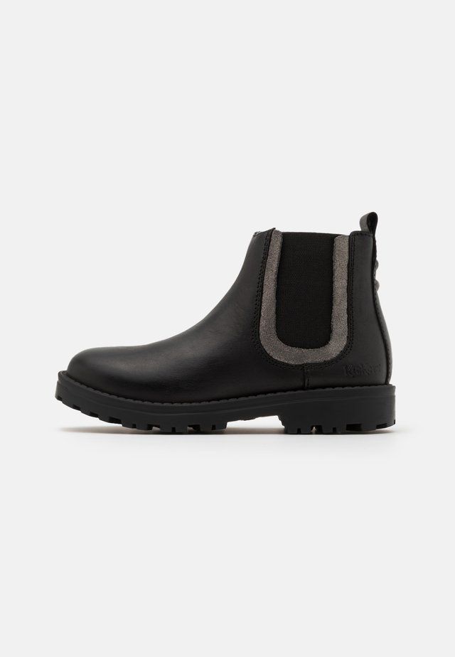 GROOKY - Korte laarzen - noir/argent