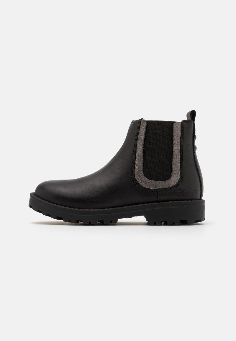 Kickers - GROOKY - Classic ankle boots - noir/argent
