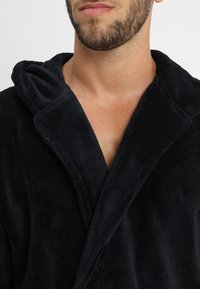 YOURTURN - Dressing gown - black - 4