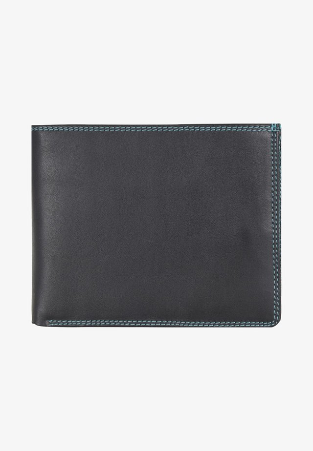 Wallet - metallic black
