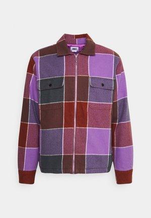 VICTORIA JACKET UNISEX - Light jacket - purple/multi