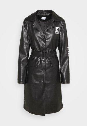 RETRO - Trenchcoat - black