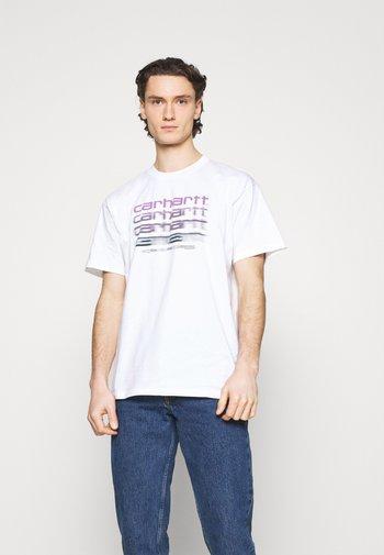 MOTION SCRIPT - Print T-shirt - white