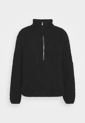 ZIP - Fleecegenser - black