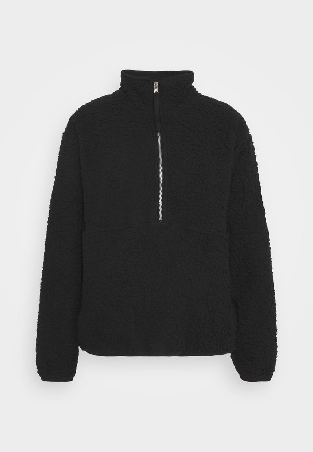 ZIP - Fleece jumper - black