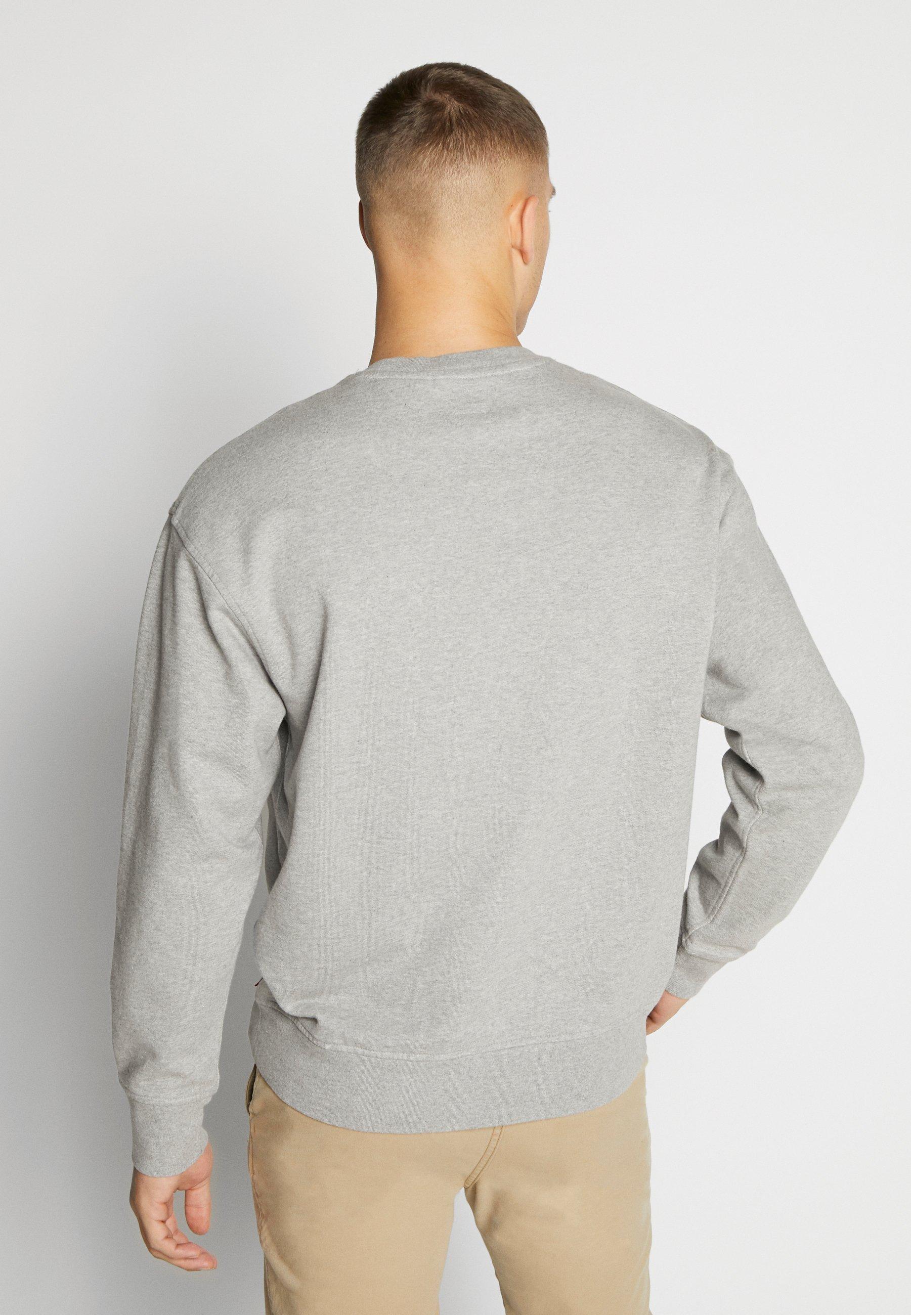 2020 Alennus Miesten vaatteet Sarja dfKJIUp97454sfGHYHD Levi's® RELAXED GRAPHIC CREWNECK Collegepaita mottled grey